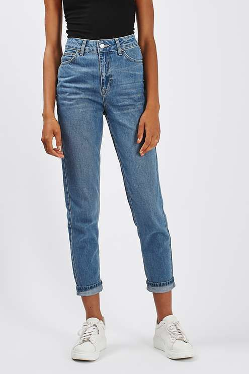 ebe79cecf020 MOTO Cheeky Rip Mom Jeans - Jeans - Clothing - Topshop | Fall | Kläder, Snygga  kläder, Sommaroutfits