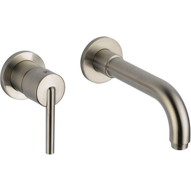 Delta Faucet T3559lf Sswl Trinsic Stainless Wall Mount Bathroom