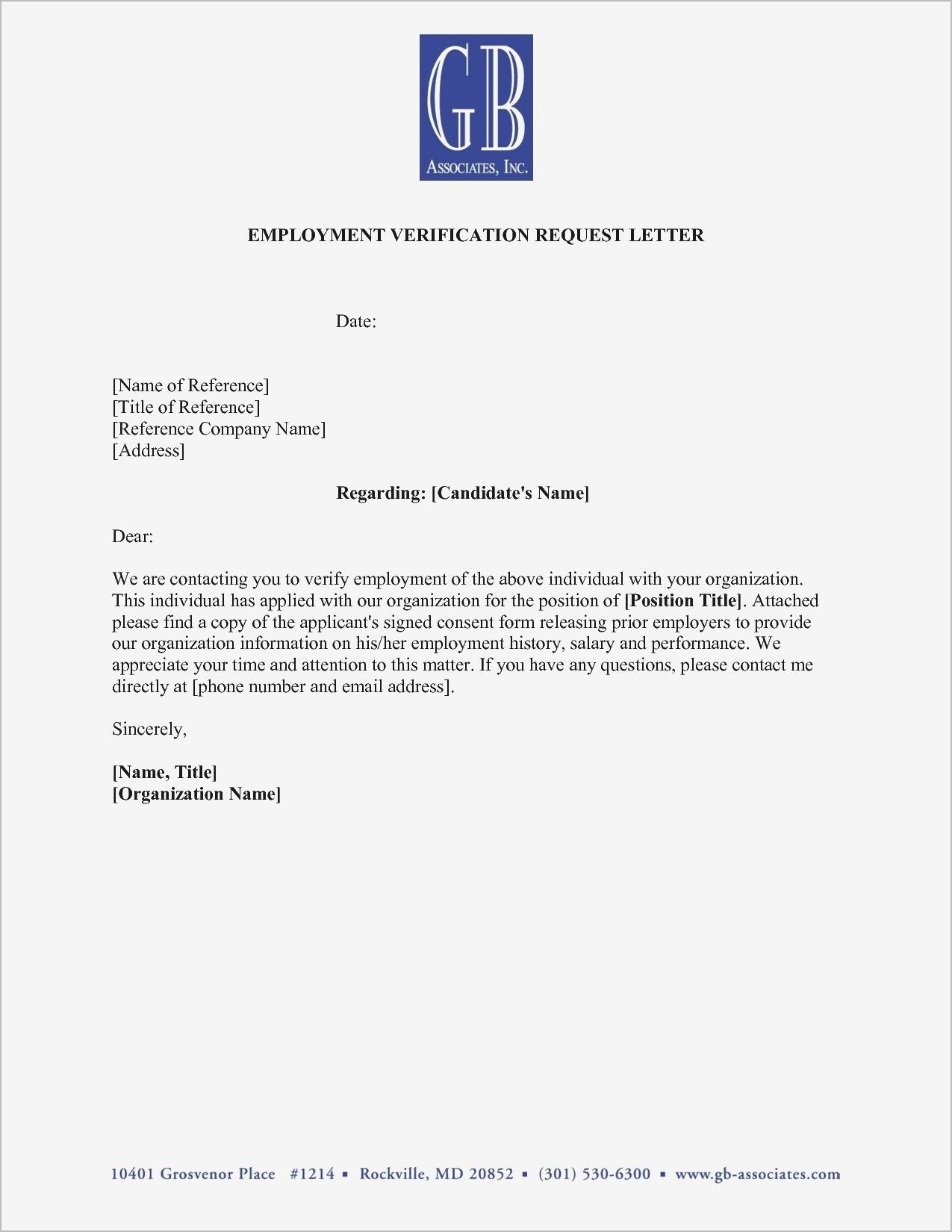 Hairstyles Employment Verification Letter Sample Doc