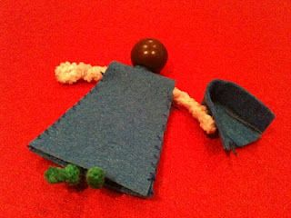 great tutorial for making pipecleaner dolls