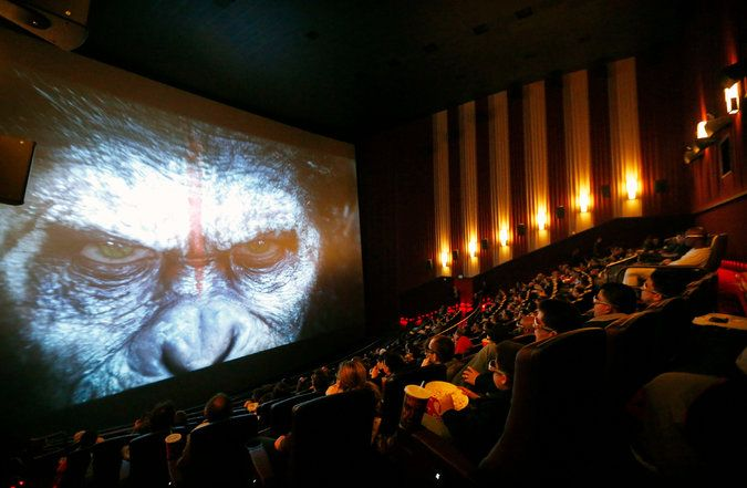 Cinema Chains Are Adding Large-Format Screens Like Imax in a Bid - bid format