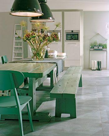 Peinture cuisine  11 couleurs tendance à adopter La salle, Salle