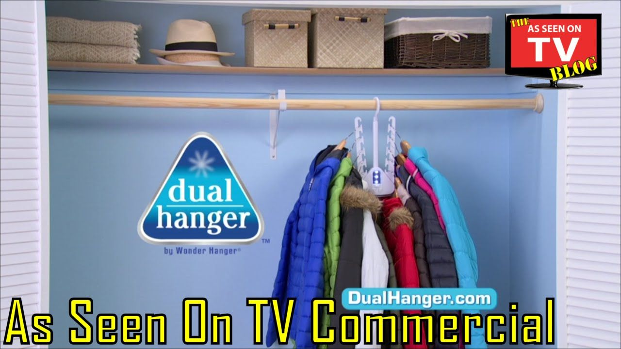 Dual Hanger As Seen On Tv Commercial Buy Dual Hanger As Seen On Tv