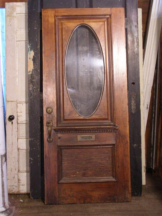 Exterior Door 8 34 X 78 Architectural Salvage Antiques