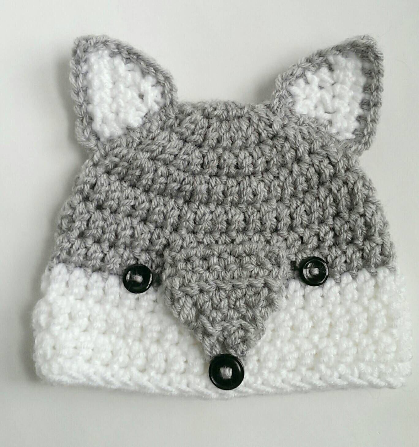 Wolf Hat Woodlands Animal Handmade Crochet Knit Hat Beanie Etsy Crochet Animal Hats Crochet Baby Hats Crochet Wolf