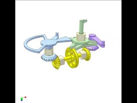 Geneva Mechanism For Reverse 120 Deg Rotation Youtube Egitim