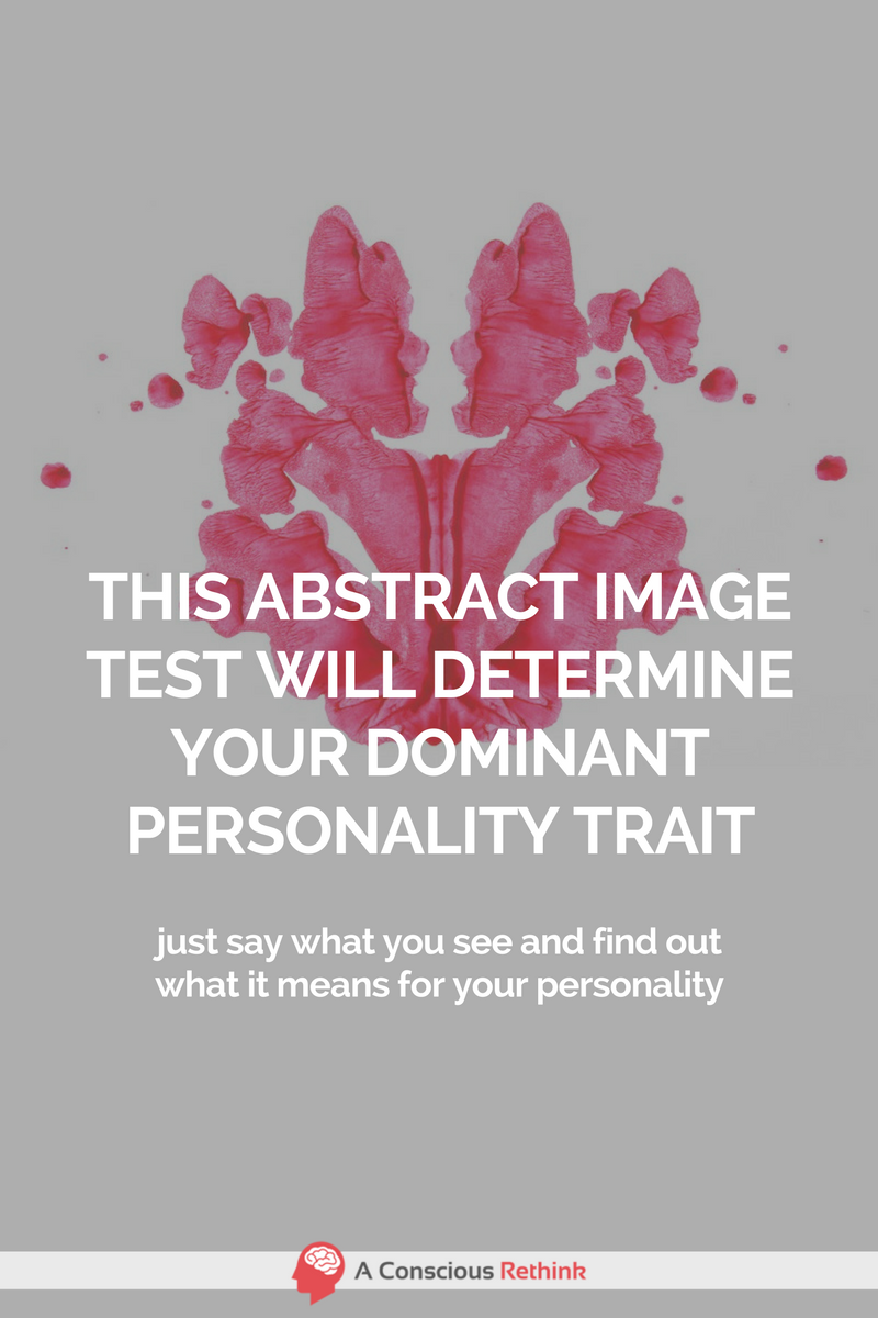 This Abstract Image Test Will Determine Your Dominant