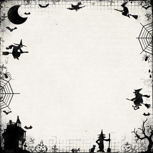 Scary Halloween Borders Halloween Borders Halloween Clipart Vintage Halloween Printables