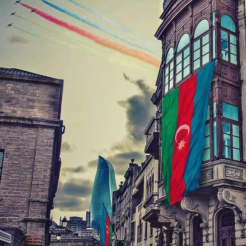 Pin By A S Y A On Azerbaycan Azerbaijan Flag Azerbaijan Travel Blur Photo Background
