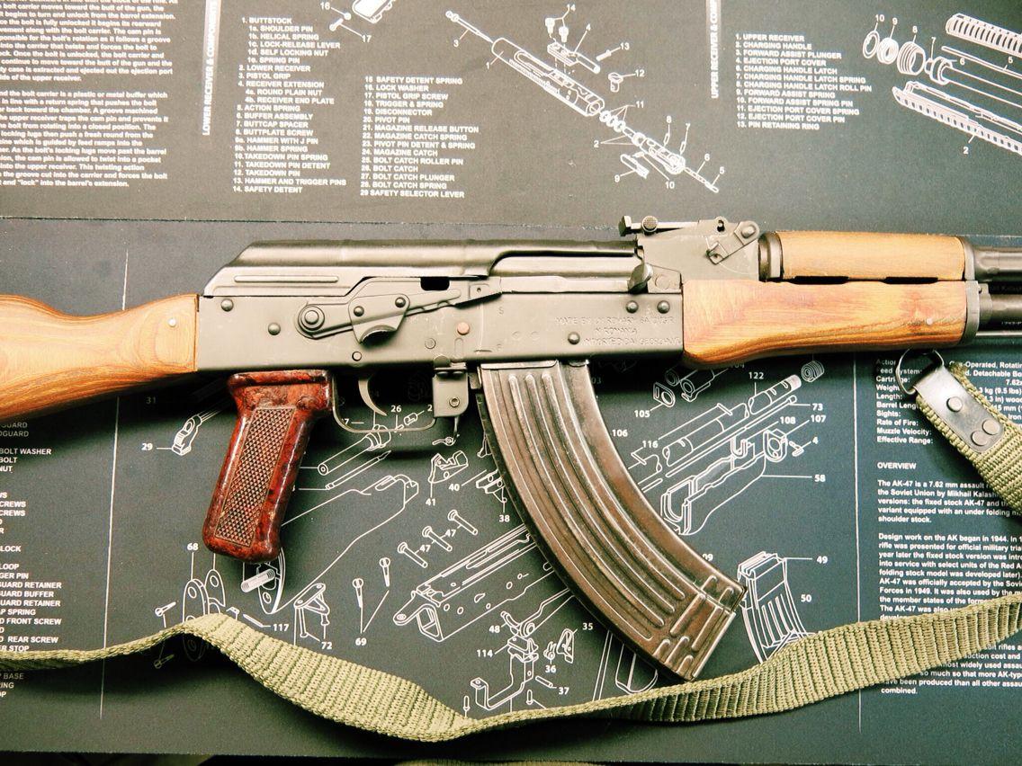 Photo of my AK47 | Weapons etc  | Guns, Firearms, Weapons