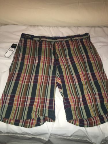 Men's Polo by Ralph Lauren Classic Fit Shorts Size 34 Plaid Multicolor  https://t.co/bX0p0LL8TV https://t.co/iykFsGbBcV
