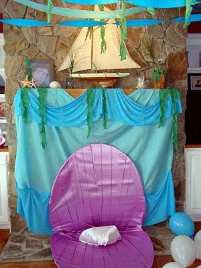 21 Marvelous Mermaid Party Ideas for Kids Mermaid birthday party