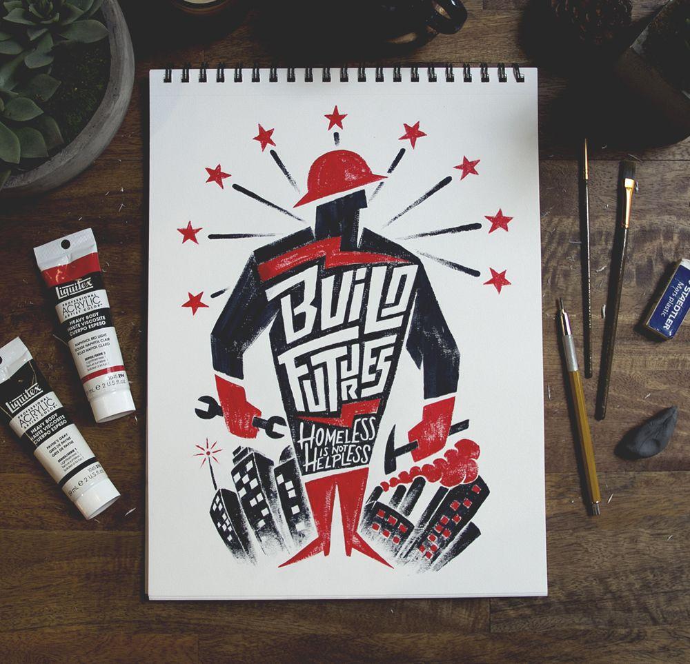 Se remettre à l'acrylique sèche ? Build Futures by Nathan Yoder