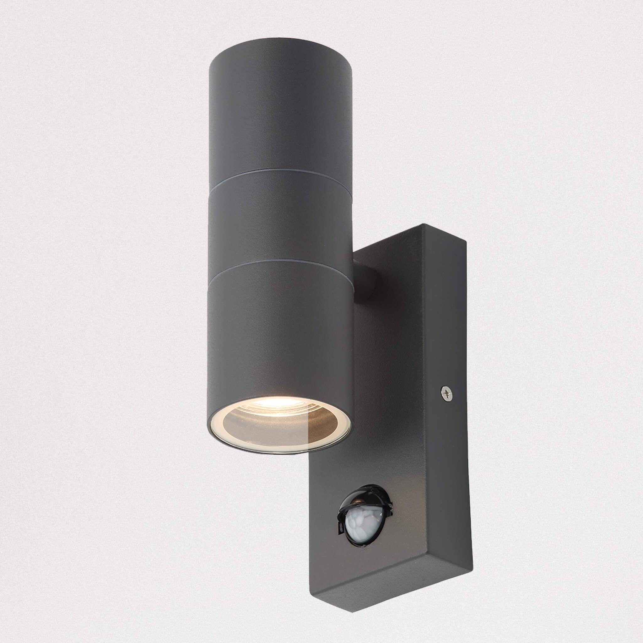 Astor Up Down Pir Sensor Wall Light Wall Lights Up Down Wall