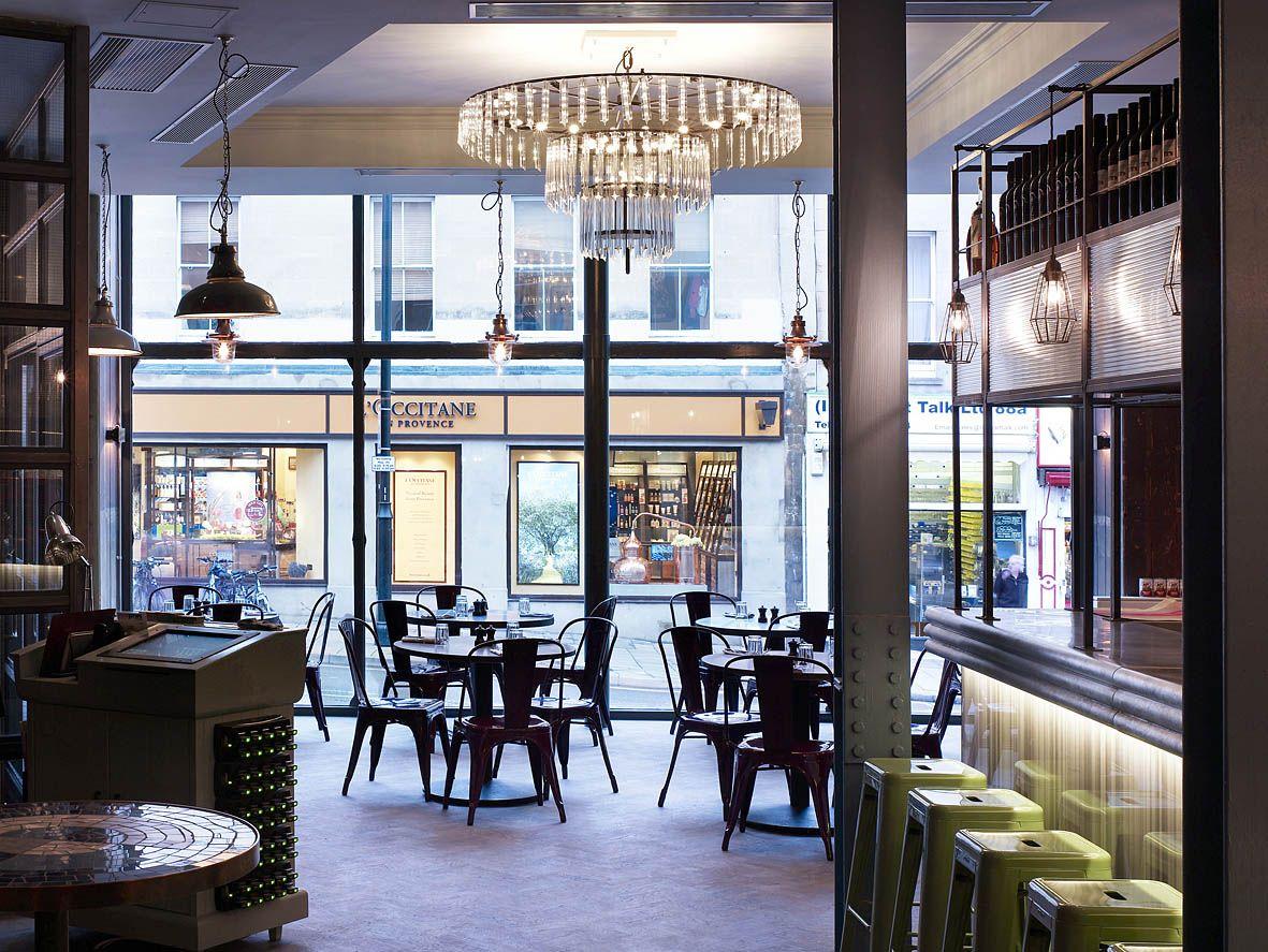 Jamie S Italian Bristol Restaurant Interior Design By Modern Architects Stiff And Trevillion