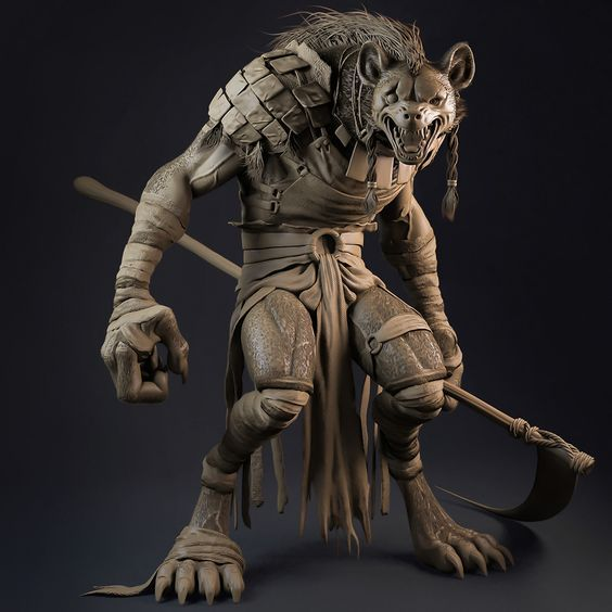 creature 3d character wire - G...