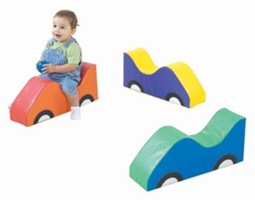 Mini Car Soft Rider Set of 3