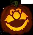 Elmo Pumpkin Pattern