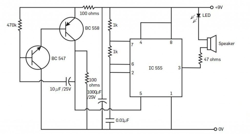ultrasonic insect repellent circuit diagram electricalElectronic Mosquito Repellent Circuit #17