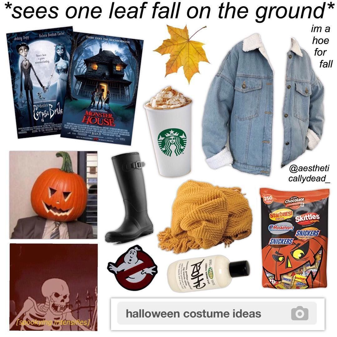 Tag Yourself Meme Halloween