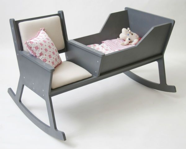 Super Modern Rocking Chair With Integrated Baby Cradle Spicytec Forskolin Free Trial Chair Design Images Forskolin Free Trialorg