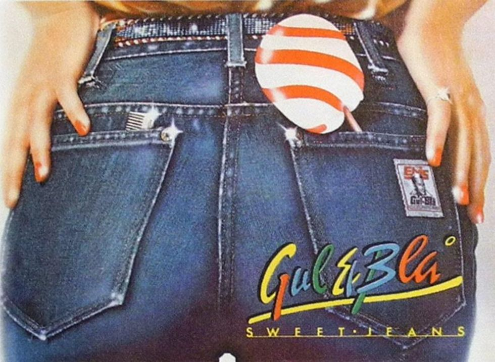 Jeans brands from the 70s