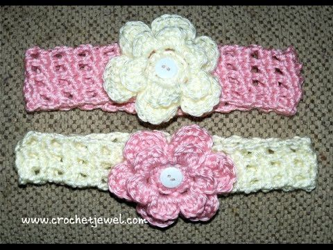 How to Crochet a Headband - YouTube | Punime me grep | Pinterest