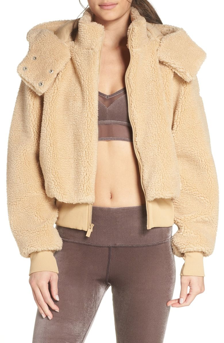 044f3cfb4 Free shipping and returns on Alo Foxy Faux Fur Jacket at Nordstrom.com.  Plush