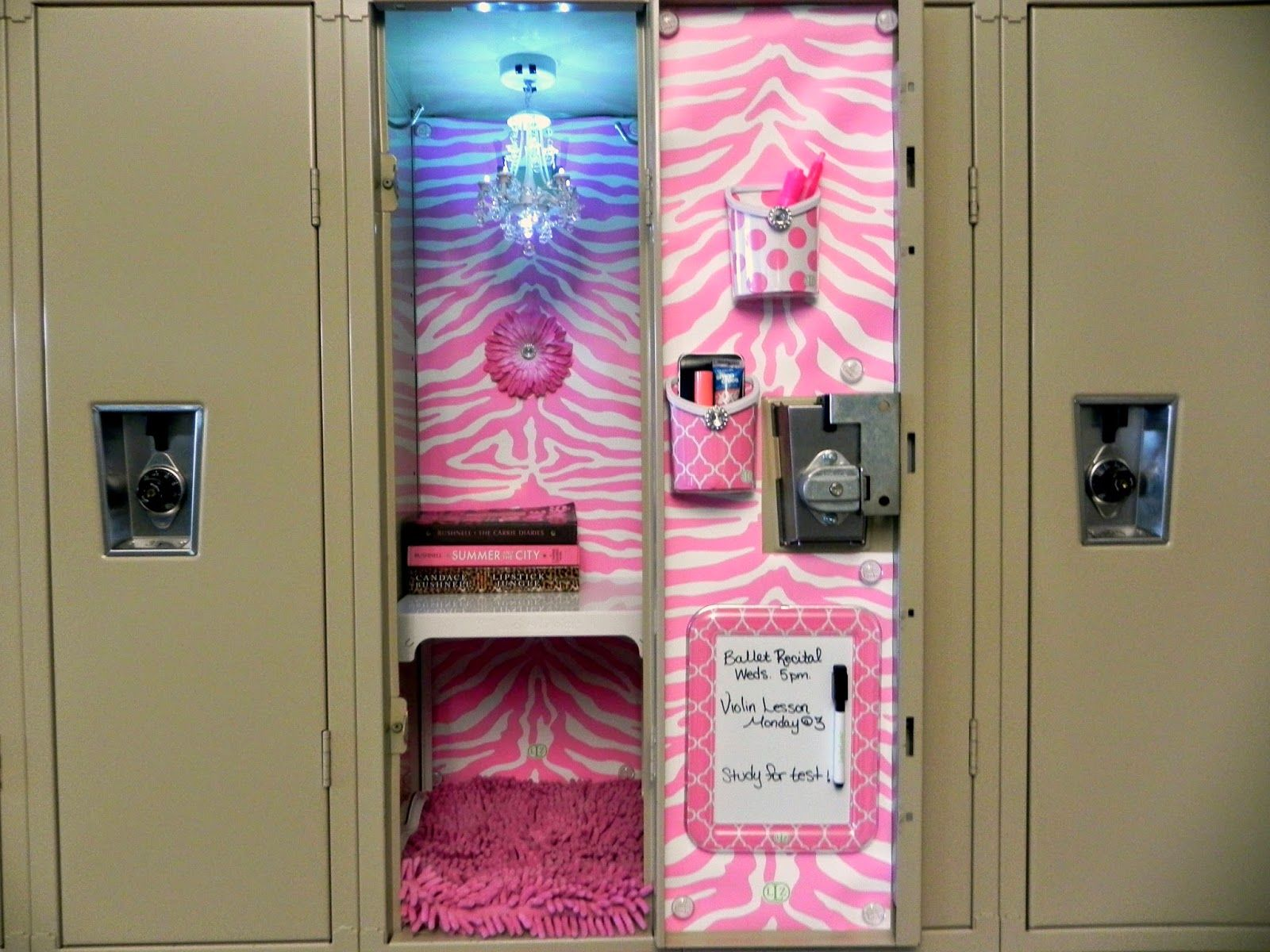 25 diy locker decor ideas for more cooler look lockers girly diy locker decor ideas decoration for kids fit furniture plans pictures solutioingenieria Images