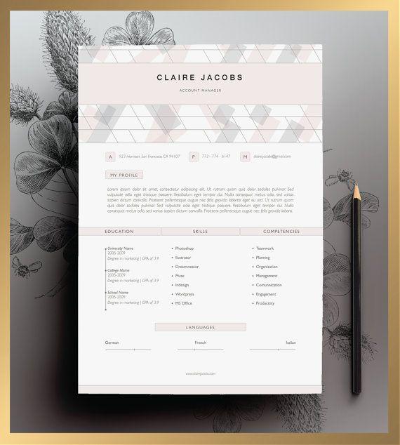 Creative Resume Template Editable in MS Word and Pages Creative - resume template editable