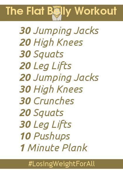 Workout to lose weight in 3 weeks