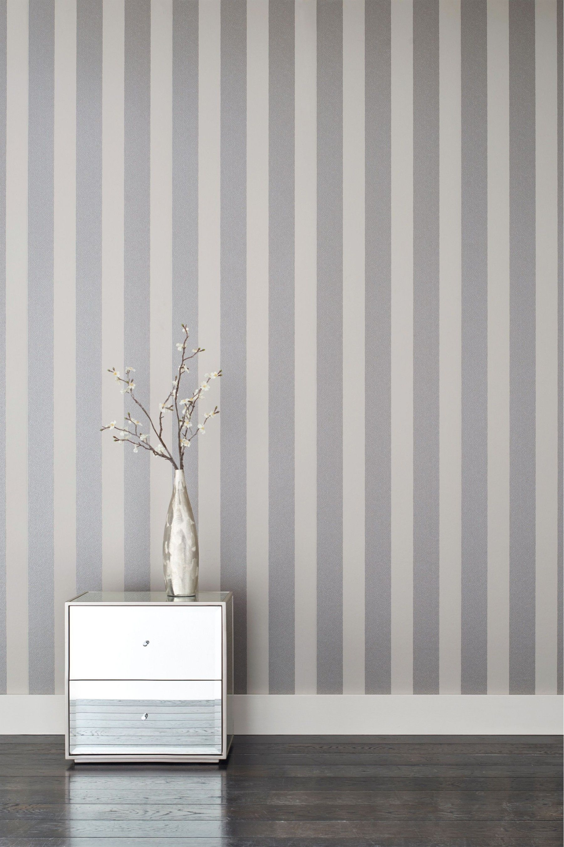 Buy Paste The Wall Sequin Stripe Wallpaper From The Next Uk