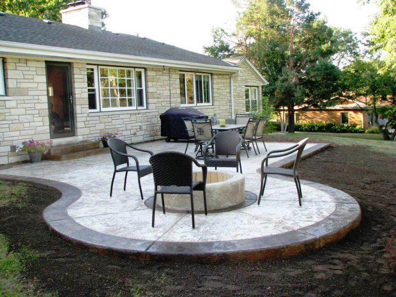 Concrete Patio Ideas To Choose From For Your Compound In 2020