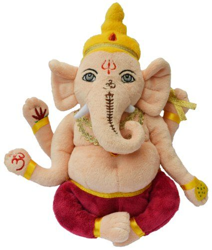 Plush Ganesh - Soft Teddy of Hindu God Ganesh