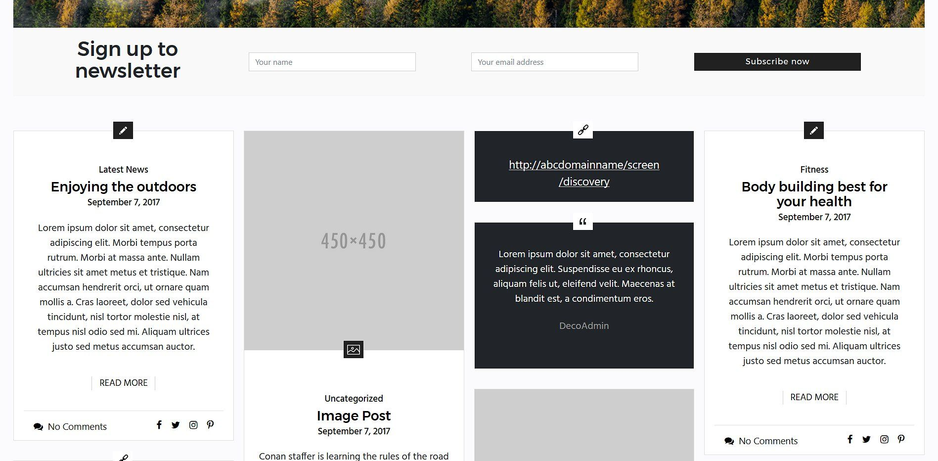 Deco Deco Theme Design Wordpress Theme Responsive