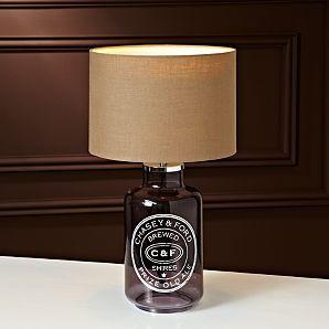 ASDA Bottle Table Lamp 30