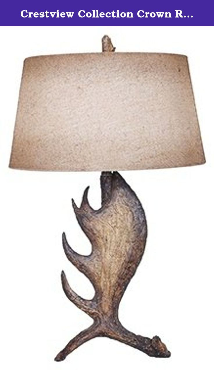Crestview Collection Crown Resin Table Lamp. This Crestview Collection  Table Lamp Will Update Your Home