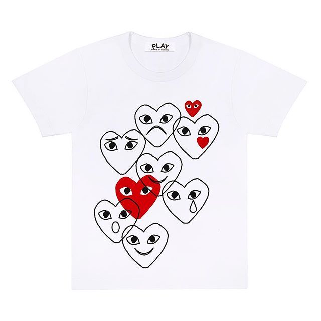a027a32c8edd New Play Comme Des Garçons Emoji T-Shirts are arriving tomorrow Saturday  July 1st at DSMNY and on the DSMNY E-SHOP.