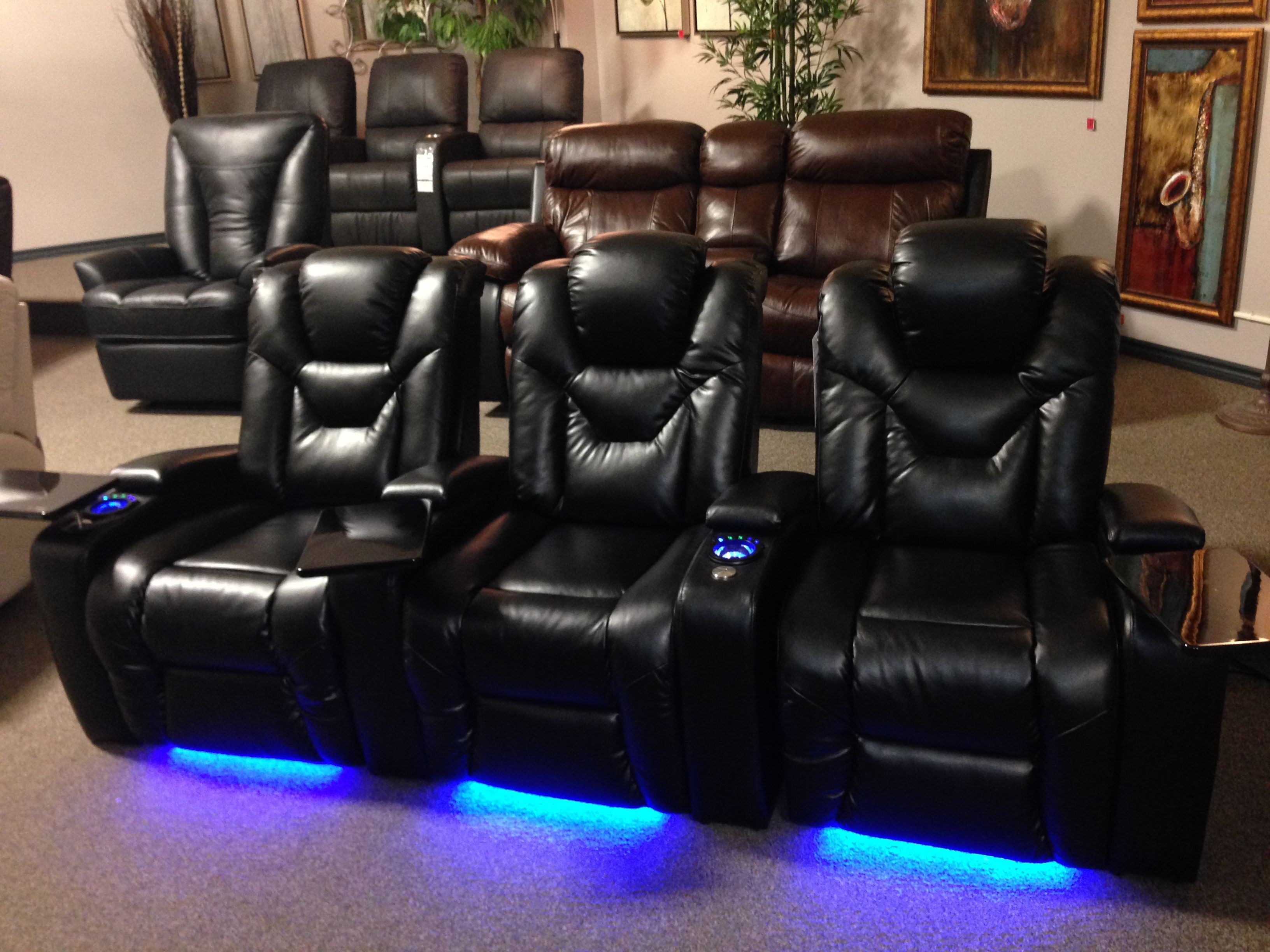 Sofaland Spain Our New Turbo Home Theater Power Recliners Power Adjustable