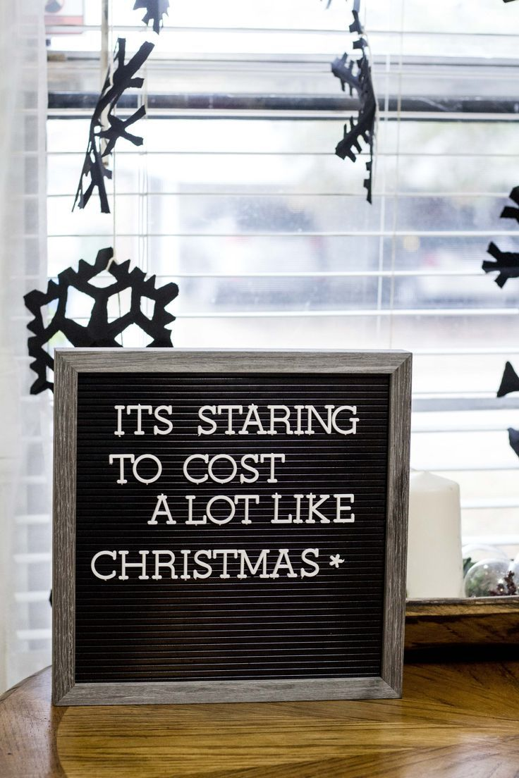 4 letterboard quotes for Christmas