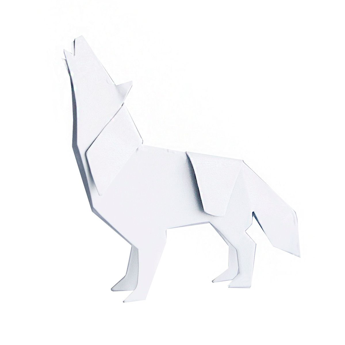 Origami Wolf By Artful Animal Figurines Wolfpack Meeting 1