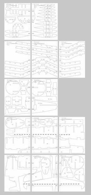 Bauplan Vom Modellflugzeug Corsair Aus Depron Modellflugzeug The Plan Flugzeug