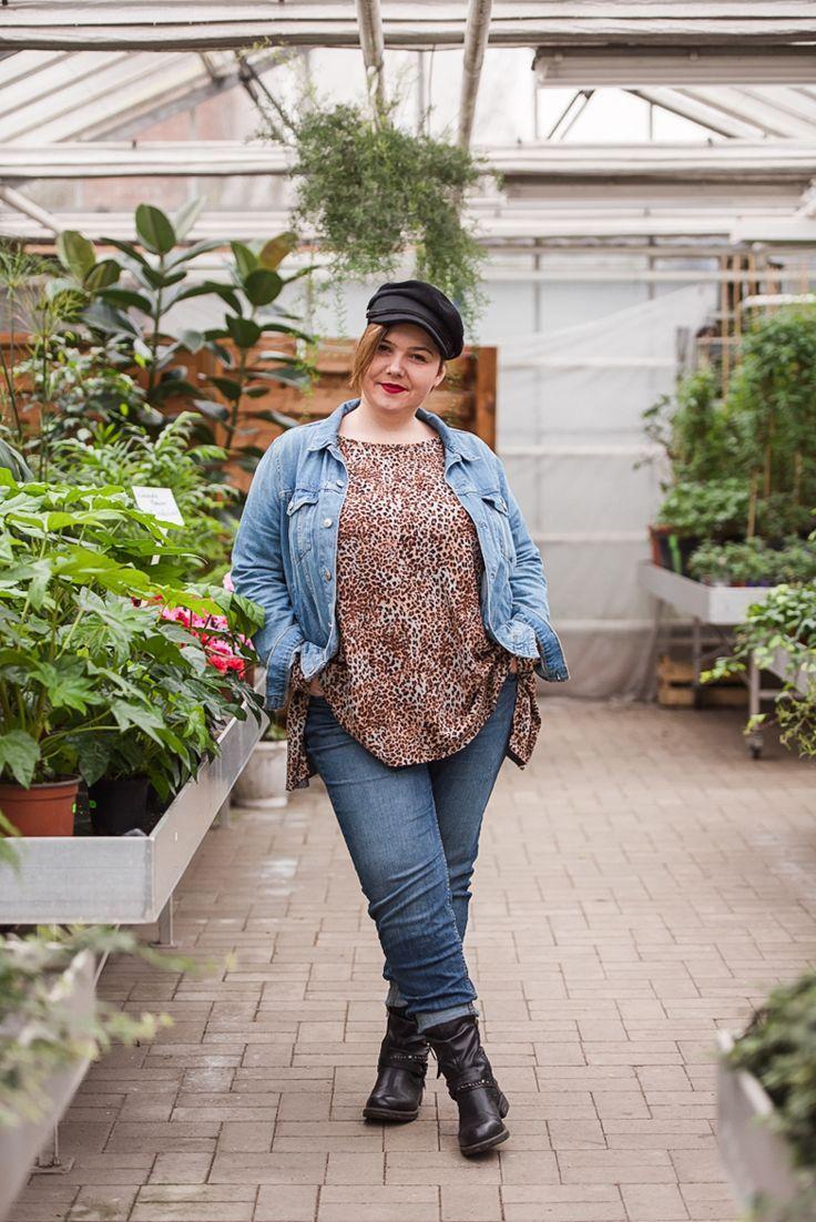 Damen Schnittmuster für große Größen - Zipfelshirt