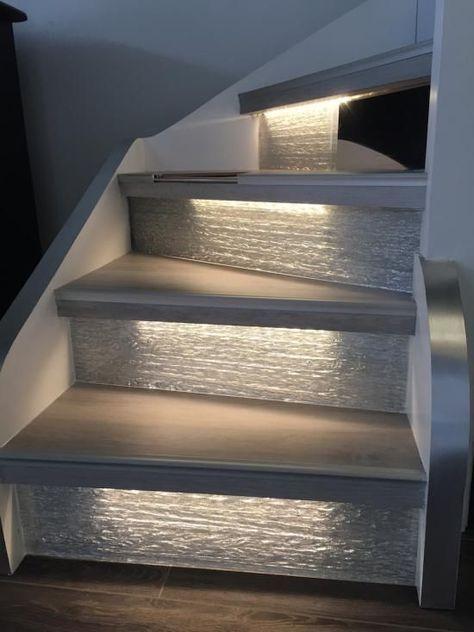 Éclairer un escalier avec des LED : 5 idées faciles et tendance - #avec #des #Éclairer #escalier #faciles #house #idées #LED #tendance #staircaseideas