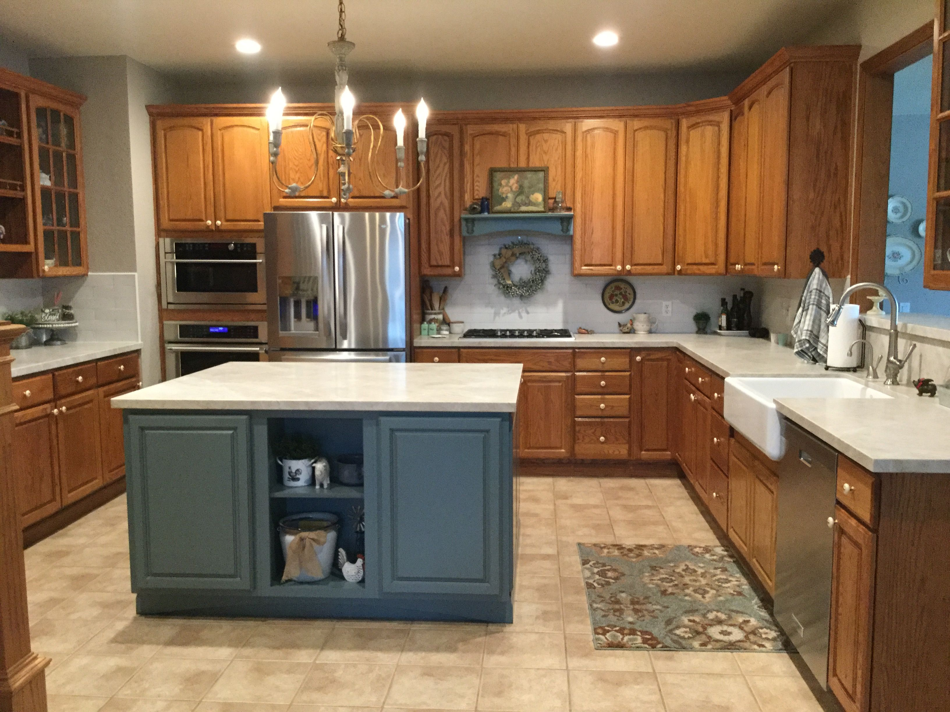 a kitchen option without having white cabinets i love white kitchen cabinets but for me it was on kitchen cabinets not white id=93335
