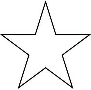 Star Cut Out Template