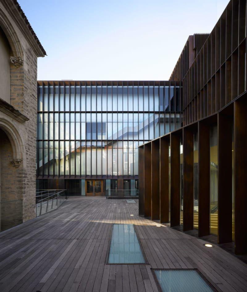 Mangado architects roland halbe pedro pegenaute museo arqueol gico de vitoria arquitectura - Arquitectos en vitoria ...