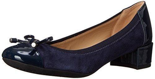 Zapatos negros Geox Carey para mujer 1uT8sLYmJ