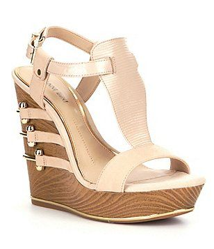 ec2f852711d Gianni Bini Felicitie Wedge Sandals#dillards Citadel Mall ...