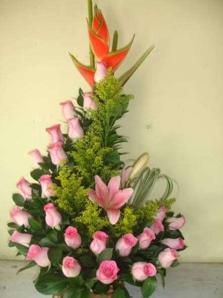 22 Pinterest arreglos florales